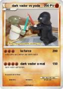 dark vador vs