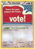 The Vote Card