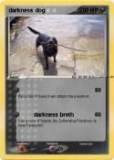 darkness dog