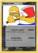 Homer tueur