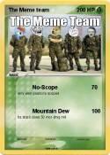 The Meme team
