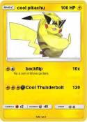 cool pikachu