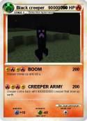 Black creeper