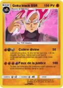 Goku black SSR