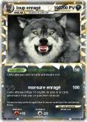 loup enragé