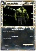 monster hulk