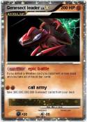 Genesect leader