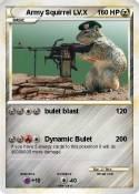 Army Squirrel