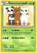 Panda,Grizzy,Icebear