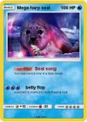 Mega harp seal