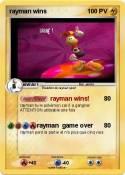 rayman wins