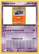 Thanos Card
