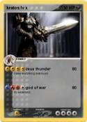 kratos lv x