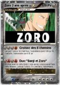 Zoro 2 ans