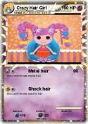 Crazy Hair Girl
