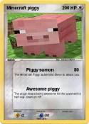 Minecraft piggy