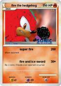 fire the hedgeh