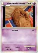 chat dans la