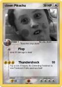 clown Pikachu