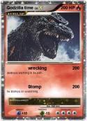 Godzilla time