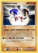 shadow et sonic