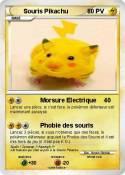 Souris Pikachu