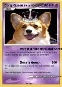 Corgi Queen ex