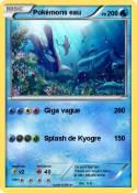 Pokémons eau