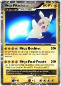 Méga Pikachu