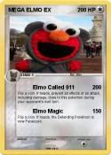 MEGA ELMO EX