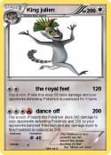 Pokémon King Julien 11 11 - Bootee - My Pokemon Card