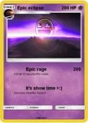 Epic eclipse