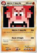 RECK IT RALPH