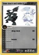team black and