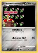 christmas idiot