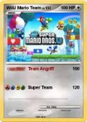 WiiU Mario Team