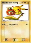 Pikachu loves