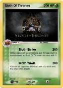 Sloth Of