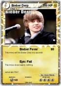 Bieber Derp