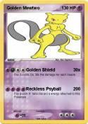 Golden Mewtwo