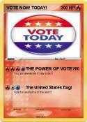 VOTE NOW TODAY!