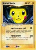 Space Pikachu