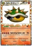 Spike Shell Lv.