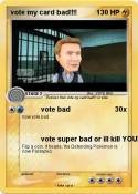 vote my card