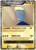 Stinky sock