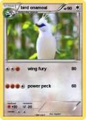 bird onamoal