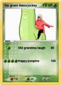 the green llama