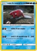 vote if u wanyt