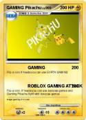 GAMING Pikachu