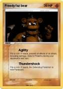 Freedy faz bear